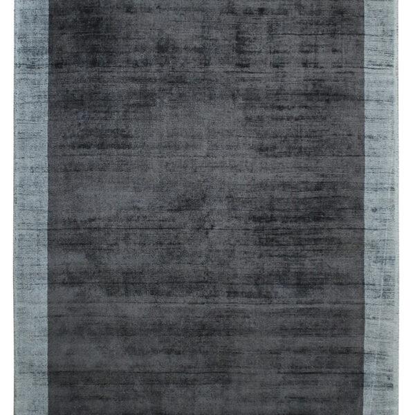 tappeto border nero-steel