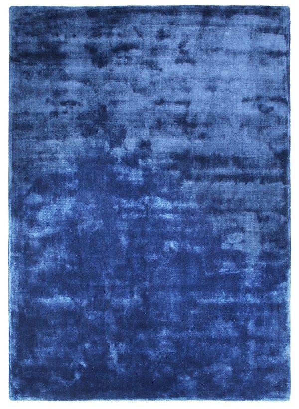 Tappeto moderno anallergico Cut Pile blu