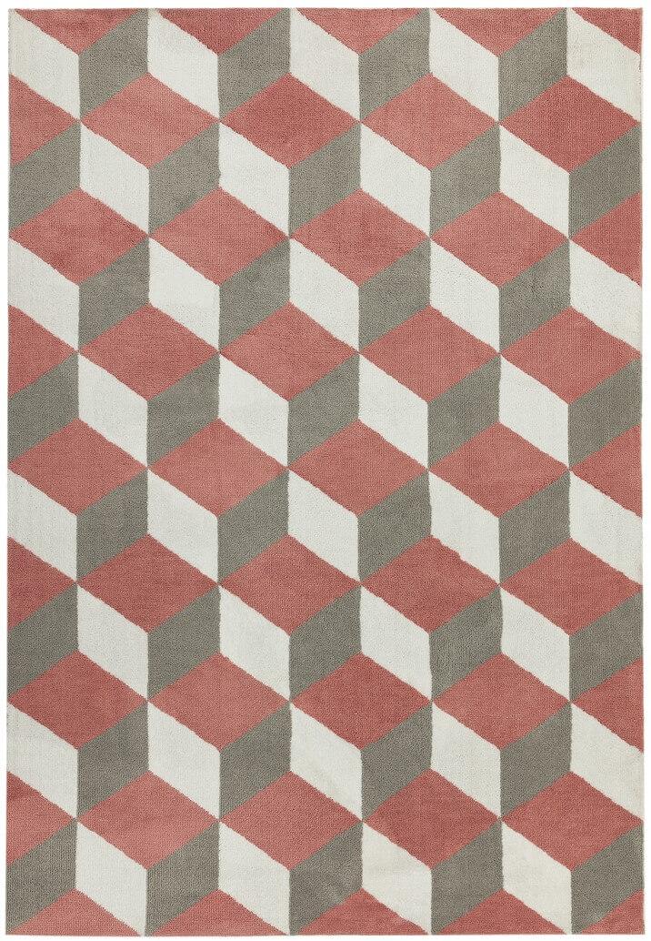 Tappeto anallergico Arlo-ar10-pink block