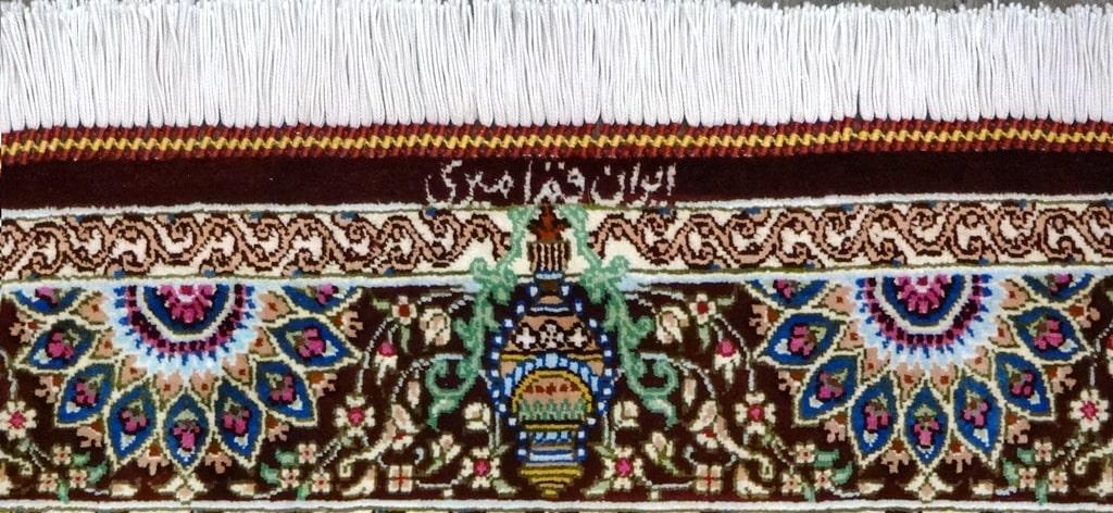 Tappeto Kum seta pura extra fine 125x75