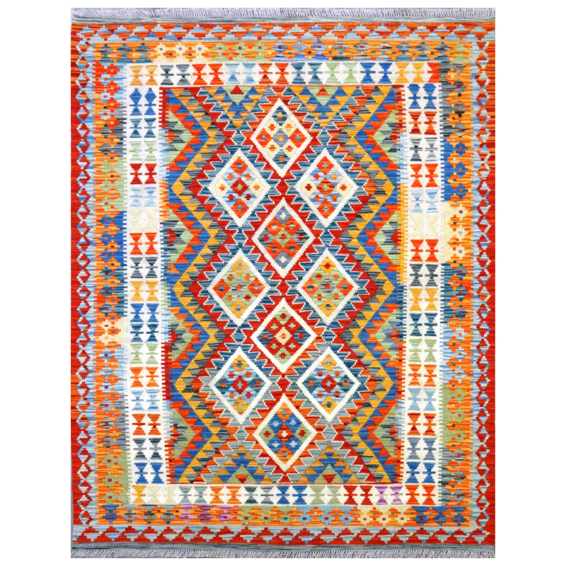 Tappeto kilim Maimano Pakistano.195x153