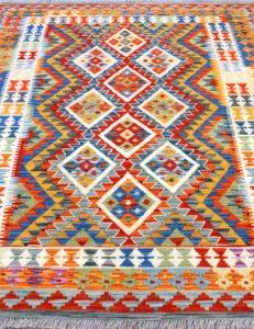 Tappeto kilim Maimano per sala 195x153