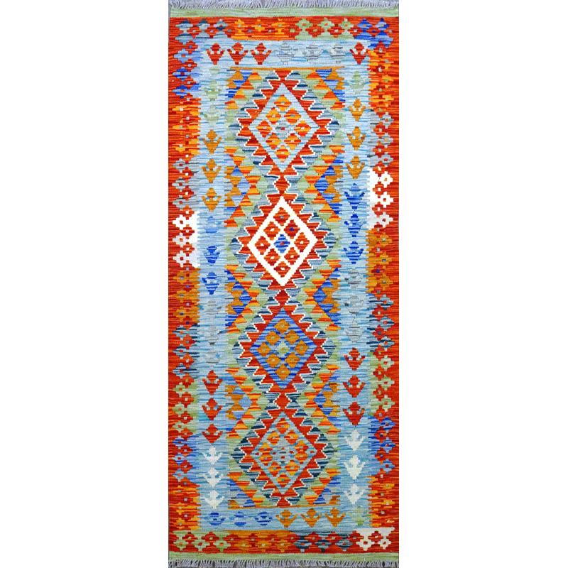 Tappeto kilim Maimano Pakistano.195x79
