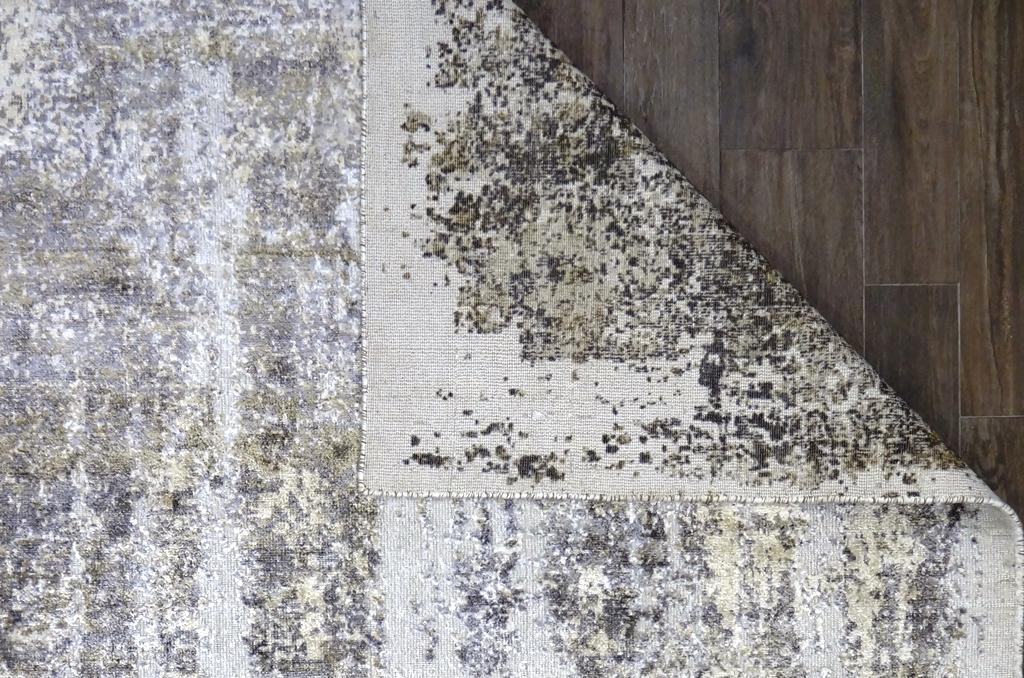 Tappeto moderno anallergico Oxid Viscosa 297x197