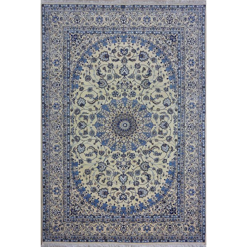 Tappeto Nain lana Seta persiano floreale 295x197