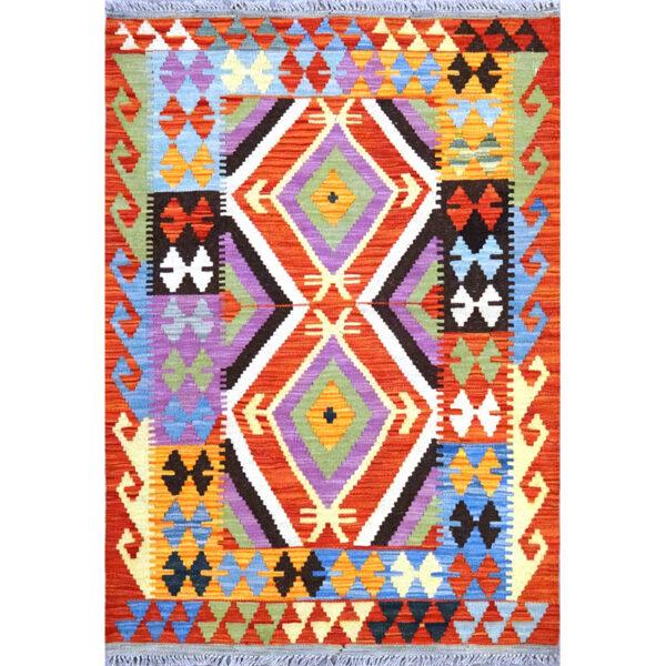 Tappeto kilim Maimano Pakistano127x88