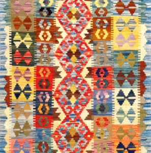Tappeto kilim Maimano azz. 144x84