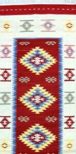 Tappeto kilim Rosato 300x70