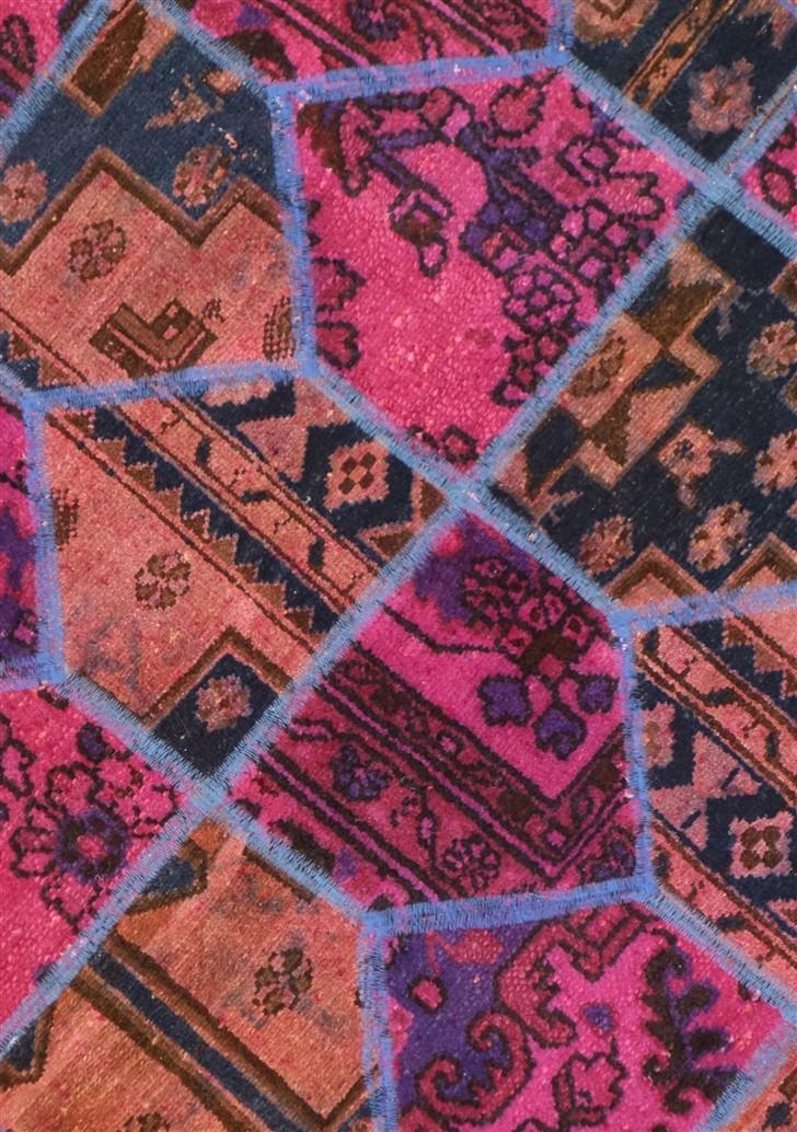 Tappeto Moderno patchwork 152x107