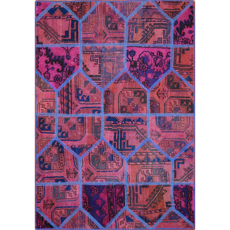 Tappeto moderno Pachtwork persiano