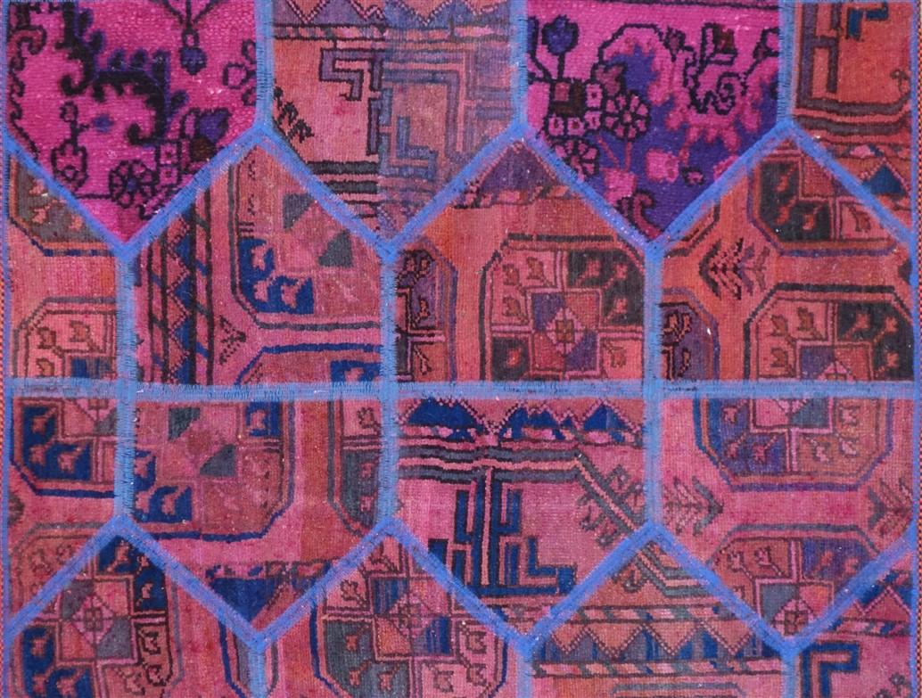 Tappeto moderno patchwork 152x102