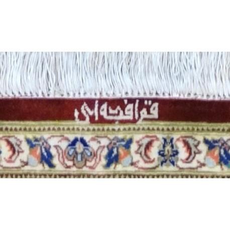 Tappeto KUM Persiano EXTRA FINE, PURA SETA 198x130