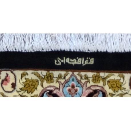 Tappeto KUM Persiano EXTRA FINE, PURA SETA 197x127