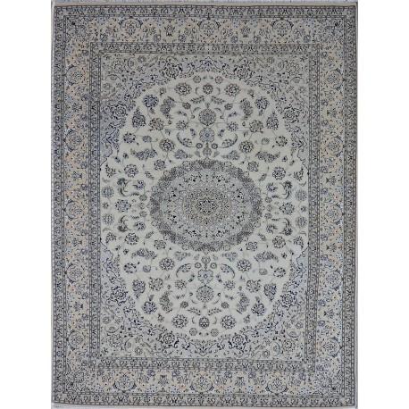 Tappeto persia classico Nain 6la extra fine lana seta cm300x200