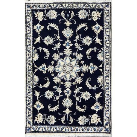 Tappeto Nain blu persiano