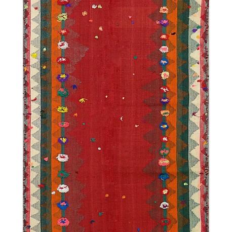 Tappeto Kilim vecchia manifattura cm330x110