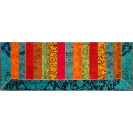 Tappeto persiano moderno PATCHWORK cm239x172