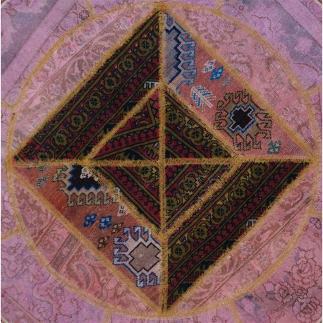 Tappeto Persiano Patchwork tondo 146x146