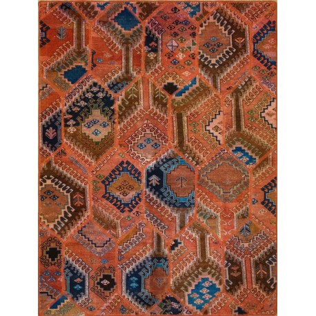 Tappeto patchwork Persiano moderno cm198x150