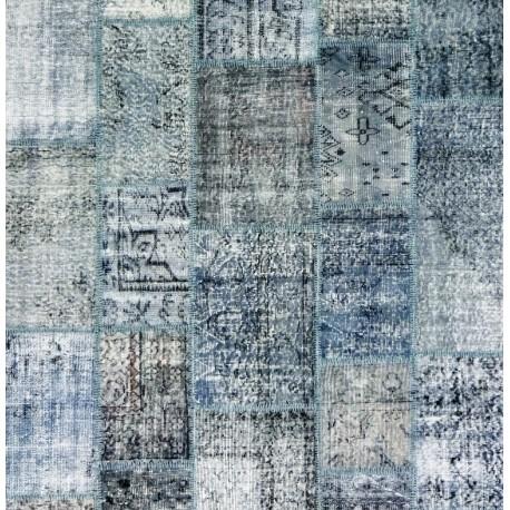 Tappeto Grigio Patchwork 300 x 200