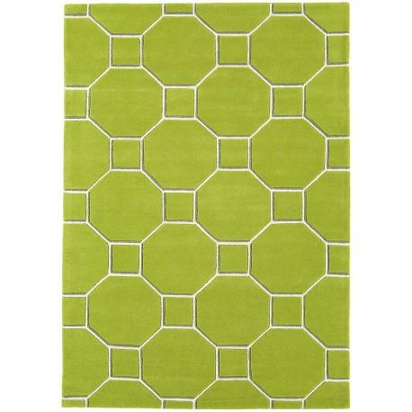 Tappeto moderno cassin green matrix