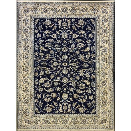 Tappeto persiano Nain fine lana seta   cm291 X 204