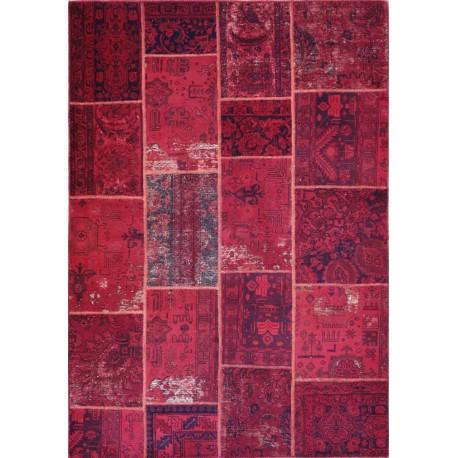 Tappeto persiano moderno monocolore pachwork cm240x168