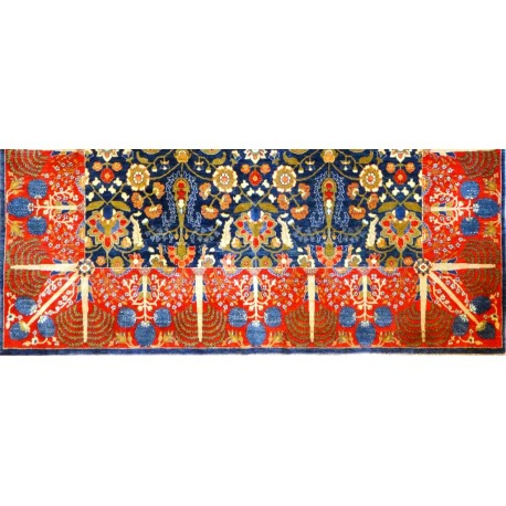 Tappeto persiano kashkuly cm276x183