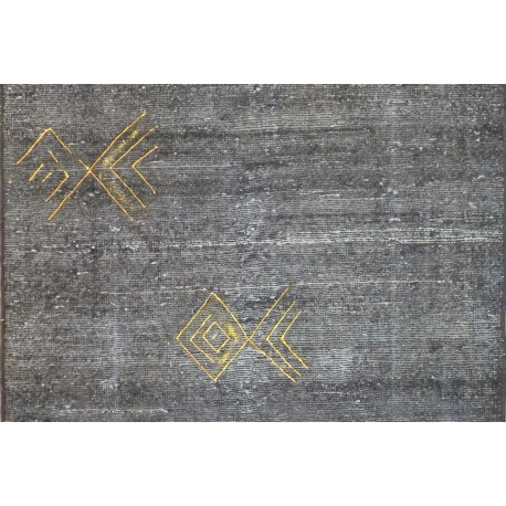 Tappeto moderno  gold line cm145x100