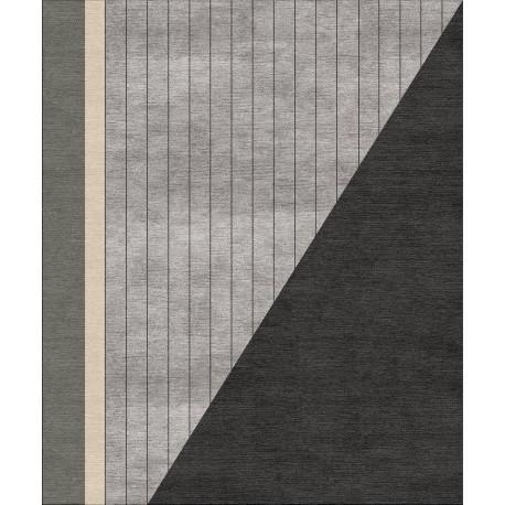 Tappeto moderno realizzabile su misura Essential Lines 1_b scelto