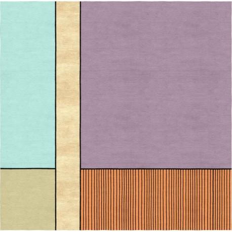 Tappeto  moderno realizzabile su misura Essential lines 3_B