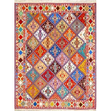 Tappeto moderno kilim sumak persiano cm200x127