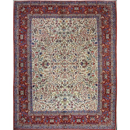 Tappeto KASHAN Persiano EXTRA FINE ANTICO cm362x278