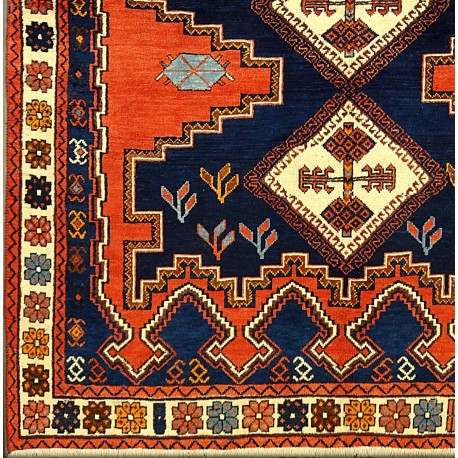 Tappeto persiano SIRJAN geometrico cm218x158