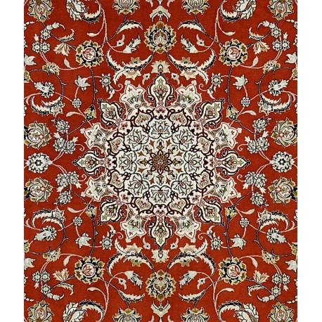 Tappeto ISPHAN Persiano  TRAMA SETA - EXTRA FINE cm235x158