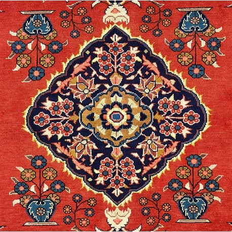 Tappeto Mashhad persiano floreale