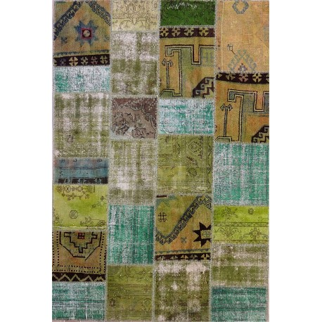 Tappeto persia moderno PATCHWORK cm302x205